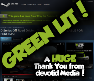 Steam Green Light LIT